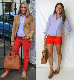 From My Closet: 30 Chambray and Oxford Outfit Ideas
