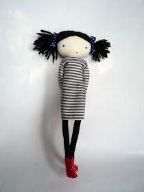 Os muestro algunas de las últimas colaboraciones: la muñeca para Lotta,   una preciosa tienda en Barcelona con una muñeca l...
