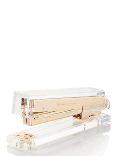 strike gold stapler by kate spade new york