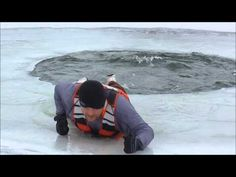 Ice Safety - How To Perform A Self Rescue - YouTube