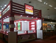 Exhibition Stand for Anmol Biscuits – #IITF in 2014 – Designed and Executed by Universal Infotainment. Contact us for all your #exhibition stand needs universalexhibits@gmail.com