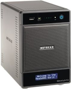 NETGEAR ReadyNAS Ultra 4 (4-bay, diskless) Network Attached Storage, latest generation RNDU4000 by Netgear. $509.99. From the Manufacturer                Designed for advanced home users, the NETGEAR ReadyNAS Ultra 4 Home Media Server enables you to store, share, and protect your digital media files and access them easily across all of your networked devices, including your TiVo. The ReadyNAS Ultra 4 runs up to three times faster than the ReadyNAS NV+. It comes equipped with f...