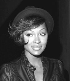 short hair, long bangs Meagan Good Short Hair, Girl Short Hair, Short Hair Cuts, Short Hair Styles, Natural Hair Styles, Cool Short Hairstyles, Cool Haircuts, Cut Her Hair, Sassy Hair