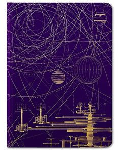 The Experiment Softcover Notebook With its bright yellow figures on a deep purple background, this Planetary Motion notebook whirls with representations of heavenly bodies in action. Astronomy Science, Space And Astronomy, Space Solar System, Systems Art, Galaxy Pattern, Science Gifts, Purple Backgrounds, Realistic Drawings, Stargazing