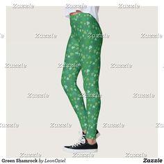 Shop Green Shamrock Leggings created by LeonOziel. Gym Leggings, Leggings Fashion, Fitness Inspiration, Workout Inspiration, Beautiful Yoga, Gym Fashion, Fashion Outfits