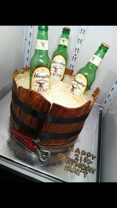 beer Birthday Cakes for Men | 21st Birthday Beer Cakes For Guys 21st birthday beer cake
