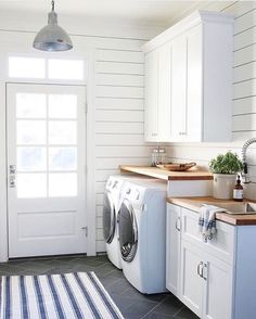 "420 Likes, 13 Comments - Jules Warnock (@juliewarnockinteriors) on Instagram: ""The amazing @studiomcgee can do no wrong. Am I right? Totally swooning over this laundry room she…"""