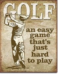 Simple Tricks To Help You Succeed At Golf. Golf is a very enjoyable sport that can be a lot of fun to play. If you would like to have more success when it comes to golfing, then read the below artic Humour Golf, Golf Vintage, Vintage Metal, Outfit Gym, Golf Etiquette, Golf Ball Crafts, Golf Art, Best Golf Clubs, Golf Quotes
