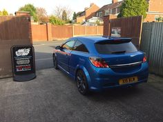 2007 Vauxhall Astra VXR in this afternoon for 18% carbon tints to the rear.