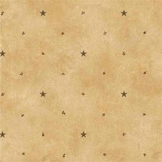 Interior Place - Tan Barn Star and Sprigs Wallpaper, 27.37 CAD (http://www.interiorplace.com/tan-barn-star-and-sprigs-wallpaper/)