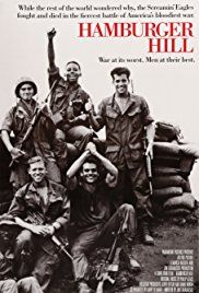 Hamburger Hill ( 1987 ) A very realistic interpretation of one of the bloodiest battles of the Vietnam War. Hd Movies, Film Movie, Movies To Watch, Movies Online, Movies And Tv Shows, Hamburger Hill, Cinema Posters, Movie Posters, Bon Film