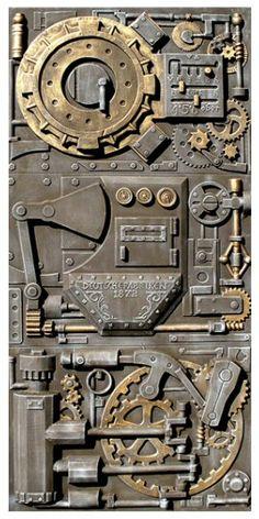 Steampunk Door.