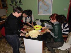 Spaghetti melanzane, noci e pomodorini!  3 Aprile 2013