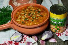 Iahnie de fasole - CAIETUL CU RETETE Chana Masala, Food And Drink, Ethnic Recipes