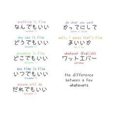 Japanese - English