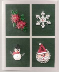 Holiday Quilling