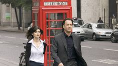 Audrey Tautou and Tom Hanks in The Da Vinci Code. Credit: Snap Stills REX