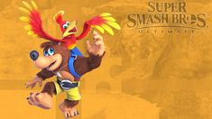 Super Smash Bros Ultimate Banjo Kazooie wallpaper by on DeviantArt Super Smash Bros Characters, Banjo Kazooie, Donkey Kong, Crossover, Deviantart, Wallpaper, Candy, Audio Crossover, Wallpapers