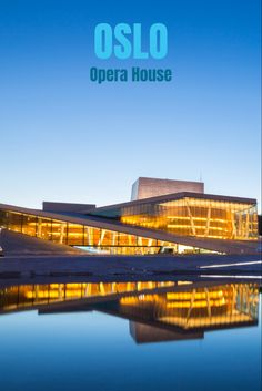 The award-wining waterfront architecture of Oslo's Opera House has quickly become one of Norway's most iconic buildings. Visit Oslo, Visit Norway, World Architecture Festival, Cultural Architecture, Oslo Opera House, Scandinavian Architecture, Norway Oslo, Glass Structure, Central City