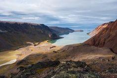 Paysages arctiques. Articles-Photos. Etah, Groenland.