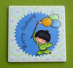 Crafty Buzz - Takeo **** Sister Stamps available from www.HankoDesigns.com ****