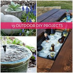 Roundup: 13 Awesome Outdoor Furniture & Design DIY Projects » Curbly | DIY Design Community