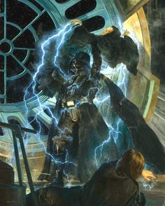 Prophecy of the Chosen One fulfilled Darth Vader ends the Rule of Two Star Wars Darth Vader, Anakin Vader, Anakin Skywalker, Star Wars Holonet, Star Wars Darth, Star Wars Pictures, Star Wars Images, Starwars, Illustration Art Nouveau