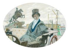 "Illustrations to Pushkin's famous poem ""Eugene Onegin"" by Dmitri Belukin"