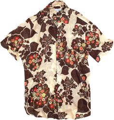 Seaplane Shirts Men's Foxy Brown Short Sleeve Button Down Shirt at Amazon Men's Clothing store: