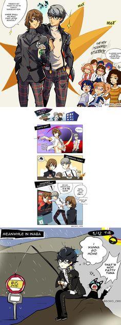 Persona 5 Memes, Persona 5 Anime, Persona 5 Joker, Persona 4, Persona Crossover, Velvet Room, Video Game Companies, Shin Megami Tensei Persona, Pokemon Ships