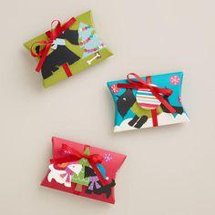 Scottie Gift Pouches, 3-Pack