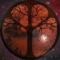 Broken+Clock+Tattoo | Clock Tree Tattoo Clock tree. via brittny gallo