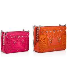 Triloubi Small Chain Bag Rosa Calfskin - Handbags - Christian Louboutin