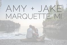 Amy + Jake are in Love :: Marquette MI Wedding Photographer - Alison Kundratic Photography