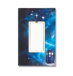 Doctor Who: TARDIS Light Switch Plate