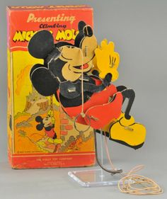 Mickey mouse toy.