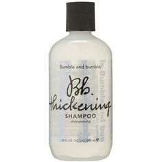 Bumble and Bumble Thickening Shampoo 250ml (73 BRL) ❤ liked on Polyvore featuring beauty products, haircare, hair shampoo, beauty, fine hair care, frizzy hair shampoo, fine hair shampoo and bumble and bumble