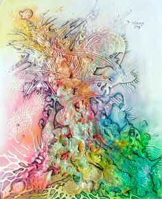 Awesome mixed media art page!...BTW,Check this out:  http://artcaffeine.imobileappsys.com