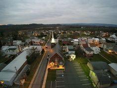 Shoemakersville,Pa    via Blade Chroma Drone