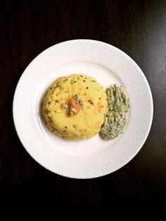 Upma - simple south Indian semolina breakfast