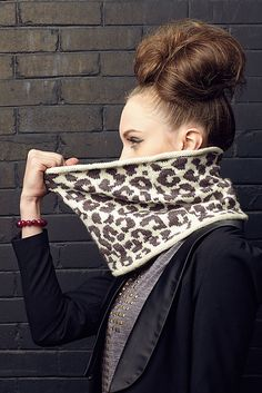 So Faux Cowl - Knitscene Accesories 2013