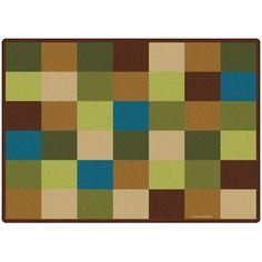 Blocks Seating Kids Rug Rug Size: 5'10'' x 8'4''  #CarpetsForKids #Home