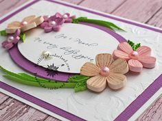 Boxed Handmade Wedding Card -