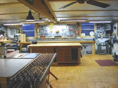 Wood working shop - oh my goodness! Buzz would love this.