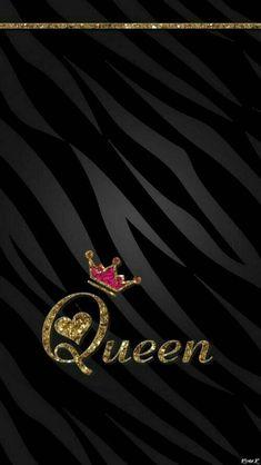queen wallpaper by hanymaxasy - 74 - Free on ZEDGE™ Alphabet Wallpaper, Emoji Wallpaper, Heart Wallpaper, Cute Wallpaper Backgrounds, Pretty Wallpapers, Love Wallpaper, Cellphone Wallpaper, Black Wallpaper, Disney Wallpaper