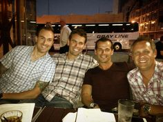 The guys in downtown Nashville
