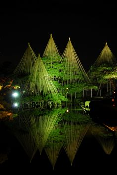 Photograph Kenrokuen Garden Ishikawa, Kanazawa Japan by Takeshi Kato