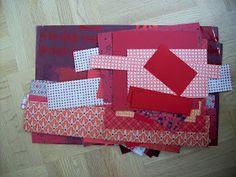 Scrap et Cie Qc: Nos retailles ! Scrapbooking, Quilts, Blanket, Diy Paper Crafts, Organization, Quilt Sets, Blankets, Scrapbooks, Log Cabin Quilts
