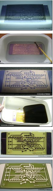 Activity of the day: Make a printed circuit board