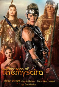 General Antiope & the Amazons of Themyscira.. Robin Wright Site